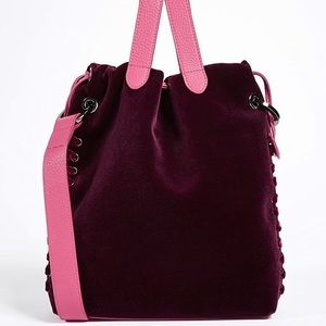 Meli Melo Womens Shoulder Bag Purple Brand New